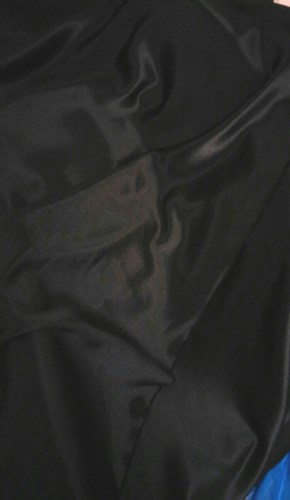 Ifasmata123.gr Heavy black satin polyester samples